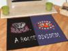 Alabama Crimson Tide - Auburn Tigers - A House Divided Rug