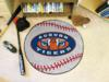 Auburn University Tigers Baseball Rug