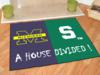 Michigan Woverines - Michigan State Spartans-A House Divided Rug