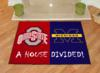 Ohio State Buckeyes - Michigan Wolverines - A House Divided Rug