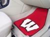 University of Wisconsin 2 Piece Front Carpet Car Mats