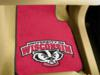 University of Wisconsin Badgers 2 Piece Front Carpet Car Mats