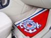 US Coast Guard 2 Piece Front Carpet Car Mats