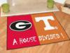 Georgia Bulldogs - Tennessee Volunteers - A House Divided Rug