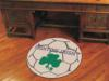 Notre Dame Fighting Irish with Clover Soccer Ball Rug