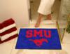 Southern Methodist University Mustangs All-Star Rug