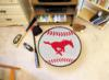 Southern Methodist University Mustangs Baseball Rug
