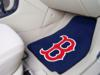 Boston Red Sox 'B' 2 Piece Front Carpet Car Mats