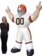 Cleveland Browns Tiny 8 Ft Inflatable Figurine