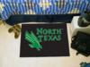 University of North Texas Mean Green Starter Rug