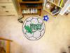 University of North Texas Mean Green Soccer Ball Rug