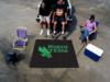 University of North Texas Mean Green Tailgater Rug