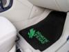 North Texas Mean Green 2 Piece Front Carpet Car Mats