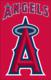 "Los Angeles Angels 44"" x 28"" Applique Banner Flag"