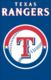 "Texas Rangers 44"" x 28"" Applique Banner Flag"